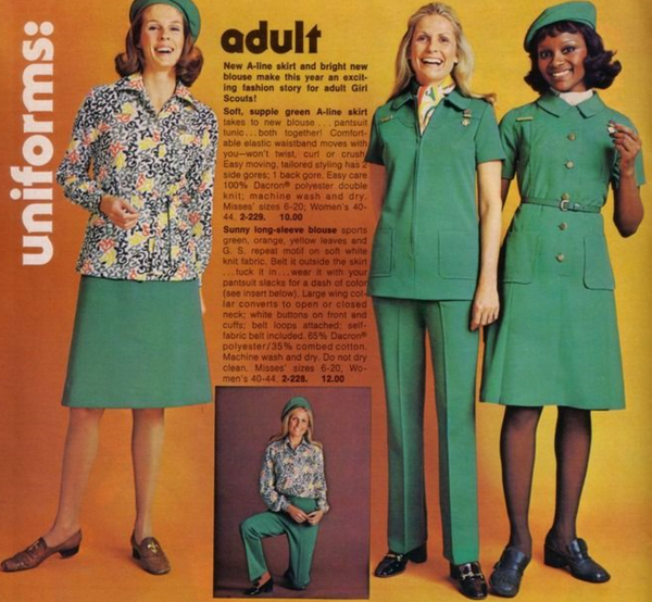 Vintage Adult Uniform