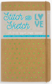 Stitch & Sketch Book Back