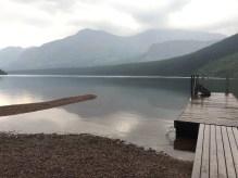 Dock on West side of Two Medicine Lake