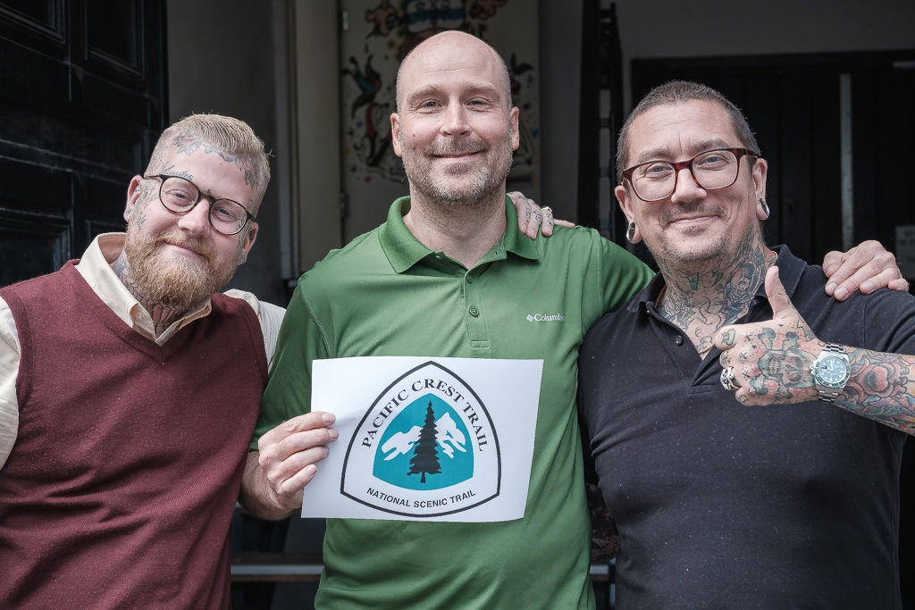 Tattoo Salonen, Tattoo Salonen og min Pacific Crest Trail tatovering