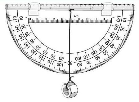homemade-clinometer