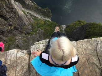Living life on the edge!