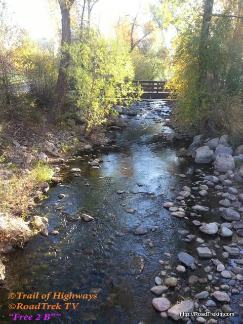 Creek Flowing into the Yampa River