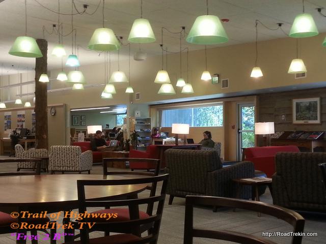 Teton County Library, Reading Area