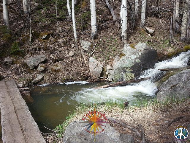 Day Hike Bridal Veil Falls, Rocky Mountain National Park