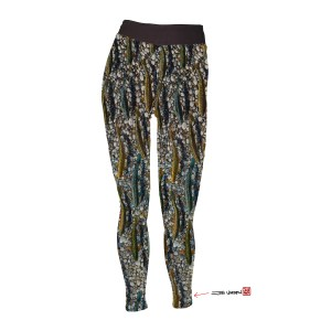 Trout Dreams All Sport Fish Yoga Pants Leggings great exercise wear, perfect for hiking, biking, trail running, and Yoga daily