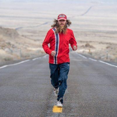 Rob Pope running