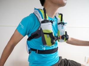 Ultra Olmo 5Lは背中で背負う感覚。