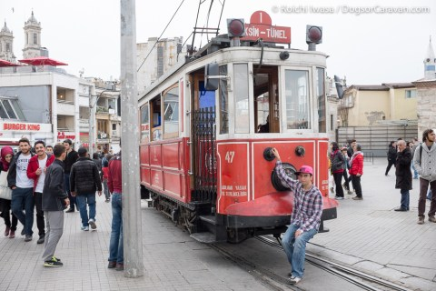 Istanbul Transportation Tram 4