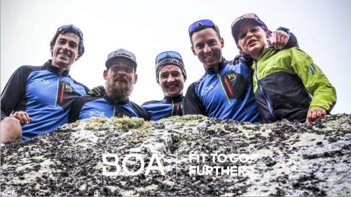 Boa Running Teamのメンバー。Image from Boa Running Team