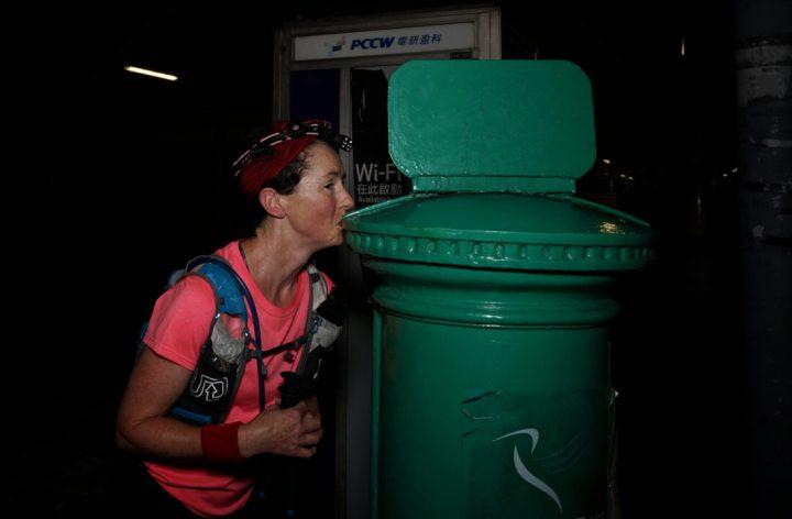 昨年は66時間50分で完走したメレディス・クインラン Meredith Quinlan。Photo by Lloyd Belcher Visuals