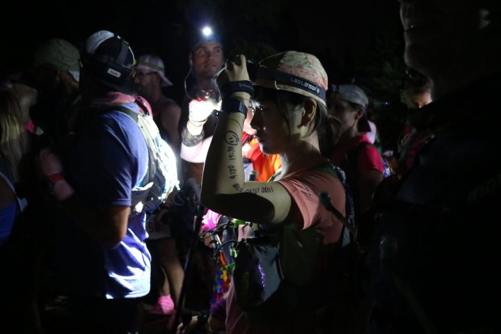 昨年1月にはハワイの100マイルレース、HURT 100へ。完走は成らなかったが、いつかもう一度挑戦したいとのこと。