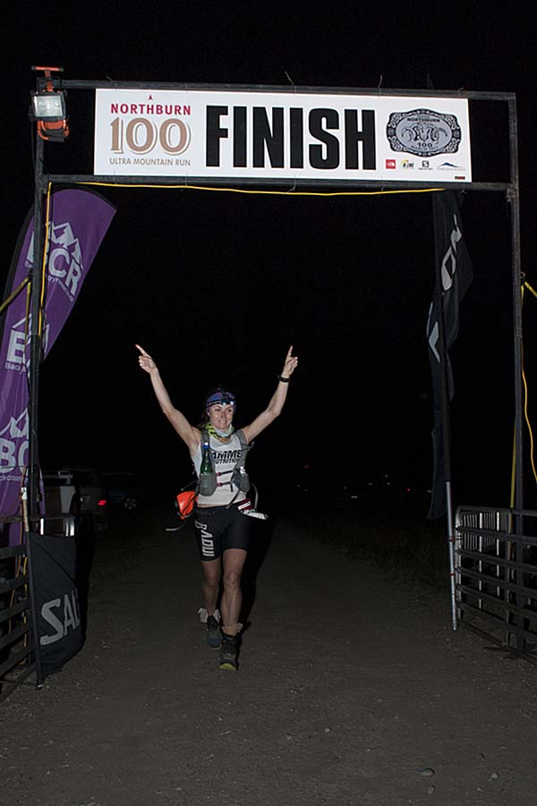Shona Stephenson Trail Runner Winner of Northburn 100 Mile