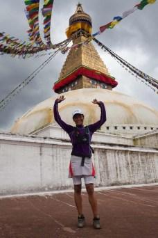 mira rai bouddha nepal