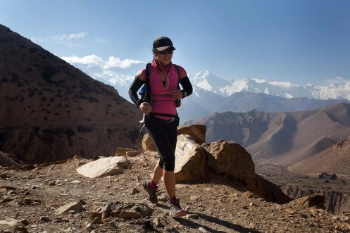 Mustang Trail Race: Celesta on stage 2