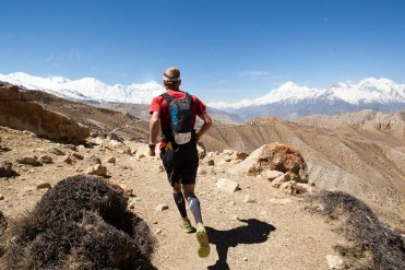 Mustang Trail Race: Andy Wellman, running