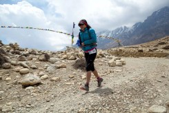 Mustang Trail Race: Chill wind on a pass