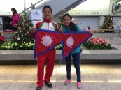bed bishnu flag airport hong kong