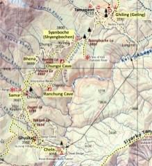 AMT 2017. 3. Chele - Ghyaka - Taklam La - Dajori La - Rangchyung Cave - Geling