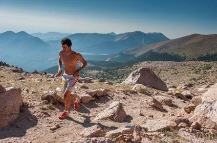 Pikes Peak Marathon 2012 foto Kilian Jornet