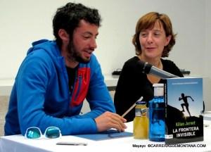 Kilian Jornet´s  book official presentation at Madrid.