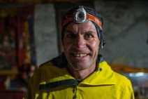 Ryno just before the start of their FKT attempt on the GHT