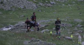 Claudia Tremps leading Trail 100 Andorra, 125 KM. Photo: Traill 100 Andorra-Pyrenees