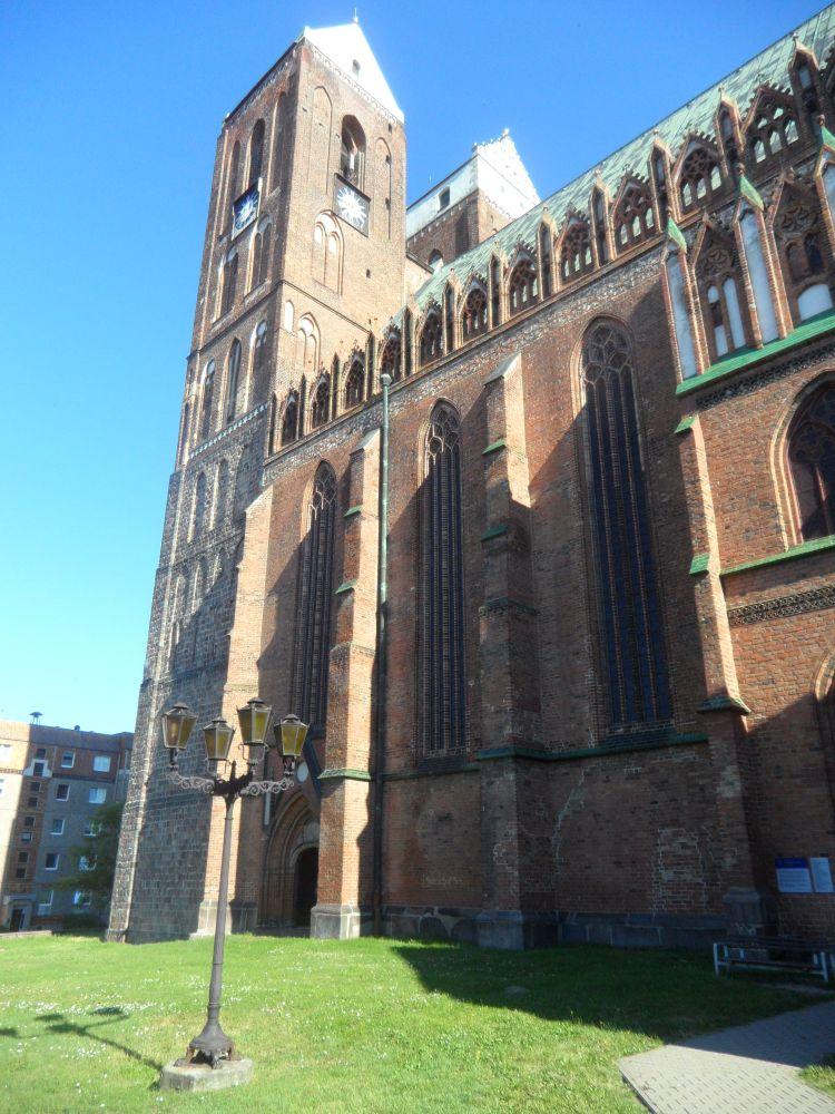 Laterne und Marienkirche