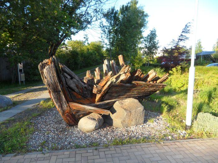 Schiffswrack in Lauterbach