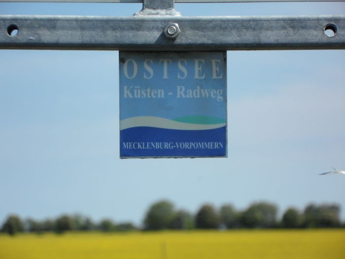 Ostseeküstenradweg-Logo