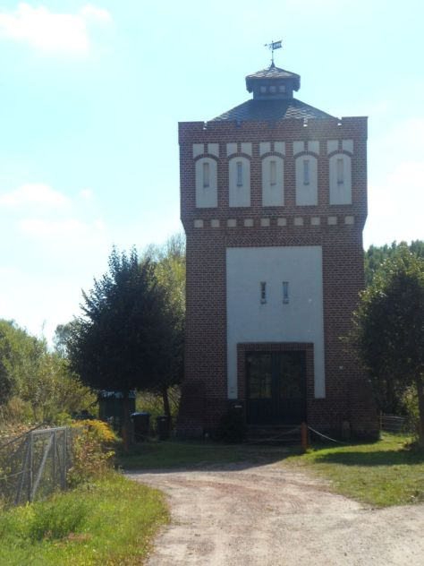 Wasserturm bei Schwante