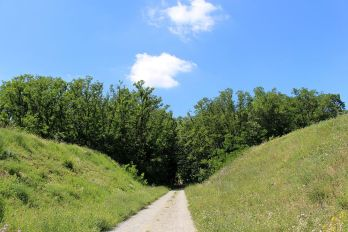 Eingang zum Fort Hahneberg