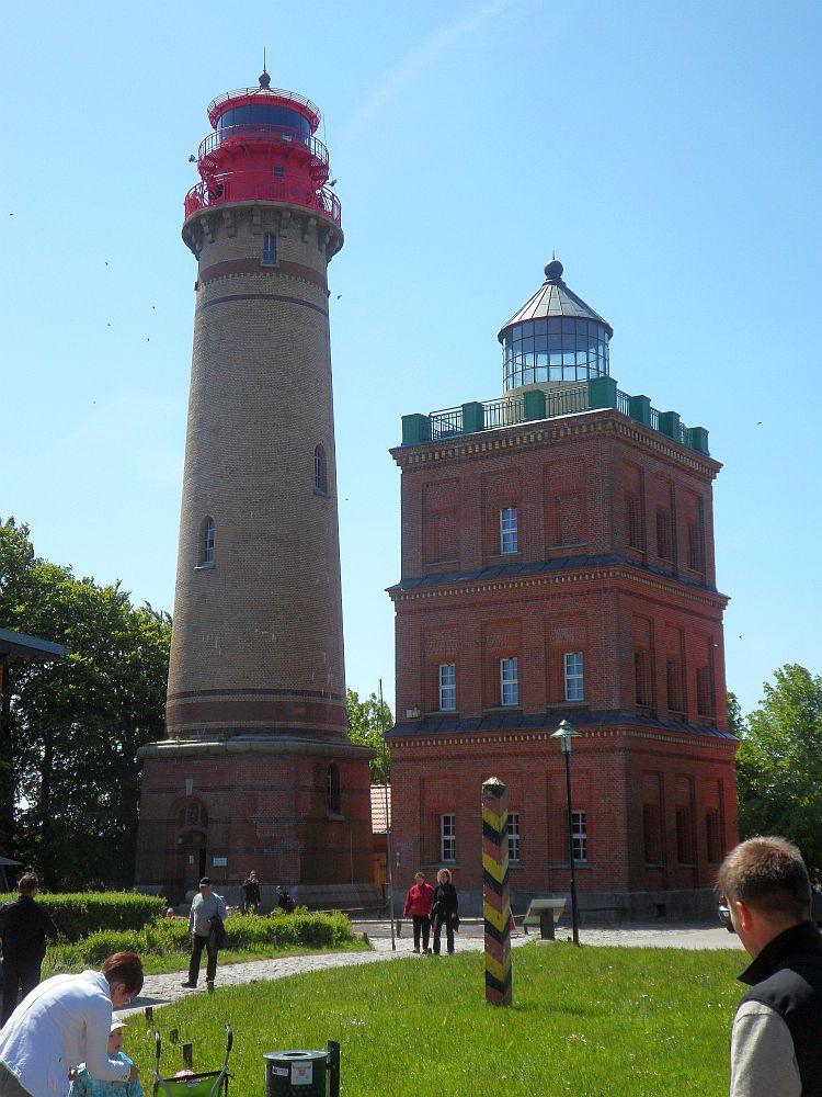 Der 'Neue Leuchtturm' und der Schinkelturm