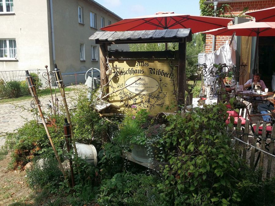"""Cafe """"Altes Waschhaus"""" in Ribbeck"""