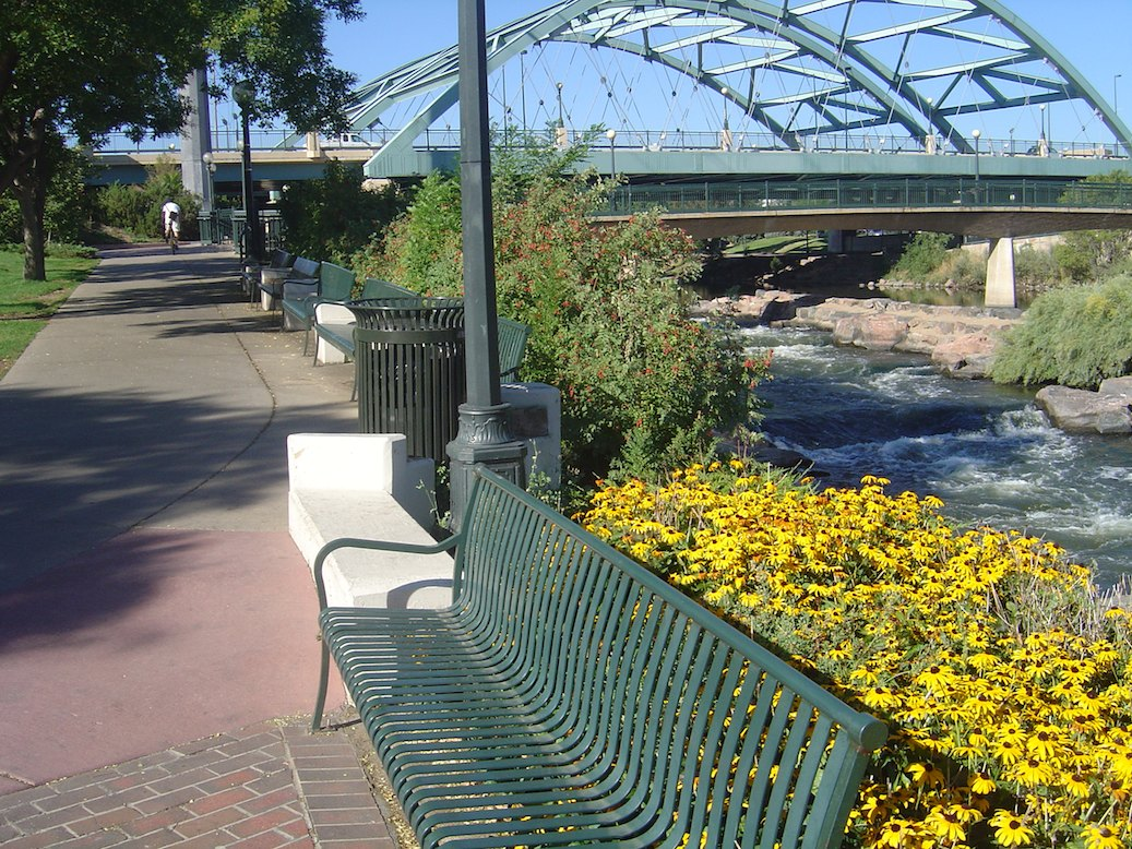 Denvers Platte River Trail On