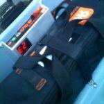 Ridekick battery and display panel