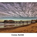 Pier at Cromer Norfolk in England
