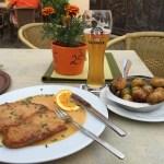 German-schnitzel