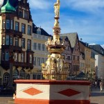 City Plaza in Trier, Germany