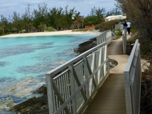 Bermuda island bike trail