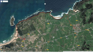5th September: 7.6km along the Camino de Santiago cliff path from Galizano to Loredo.