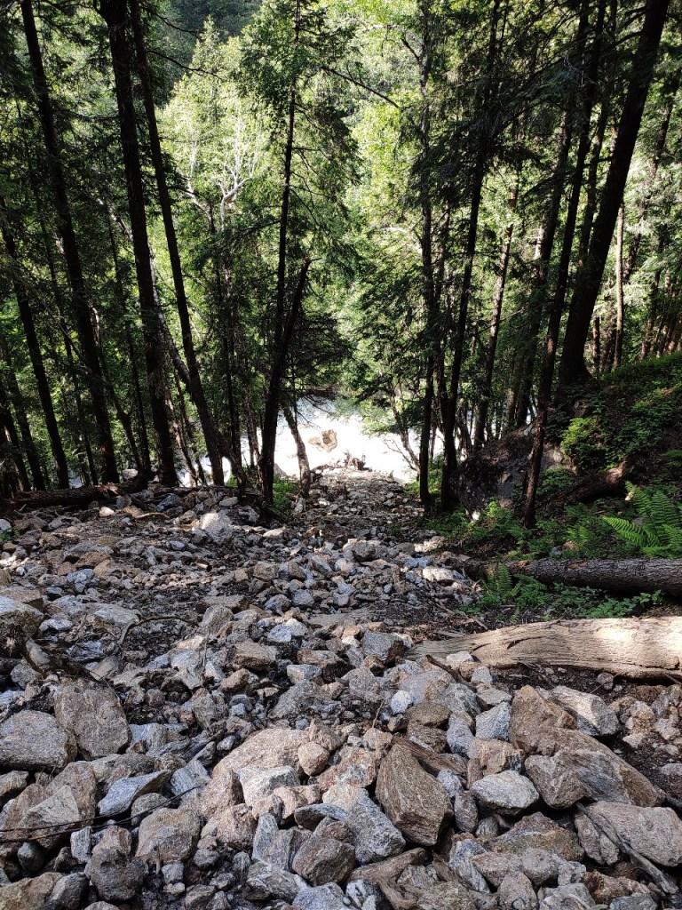 Landslides-2 En route Kheerganga Trek Summit