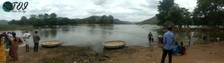 Sangama- On the left is Arkavati & On the right is Cauvery