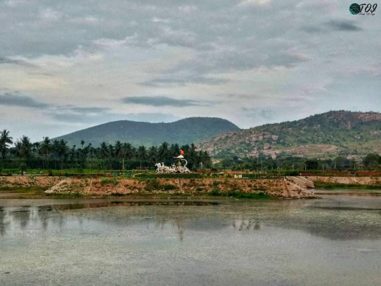 Lakes En Route Shivanasamudra
