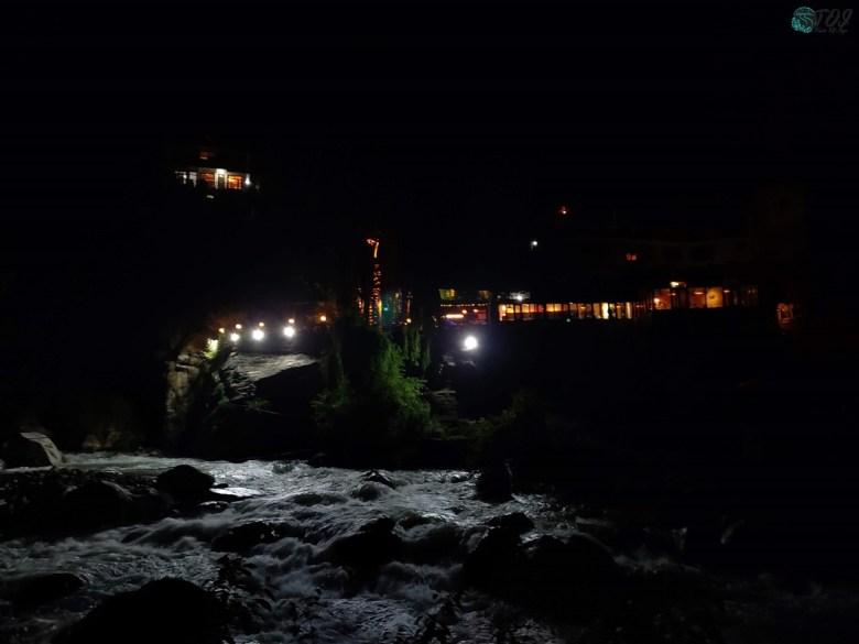 A Night Walk By Manalsu River