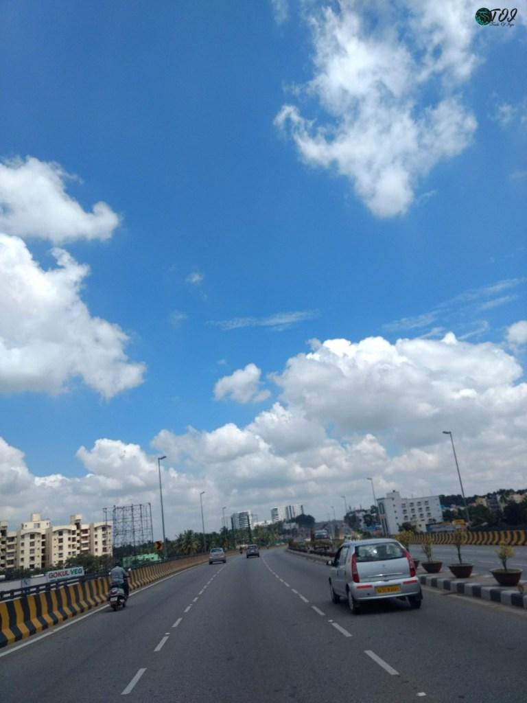 Cloudy Sky En Route Avalabetta