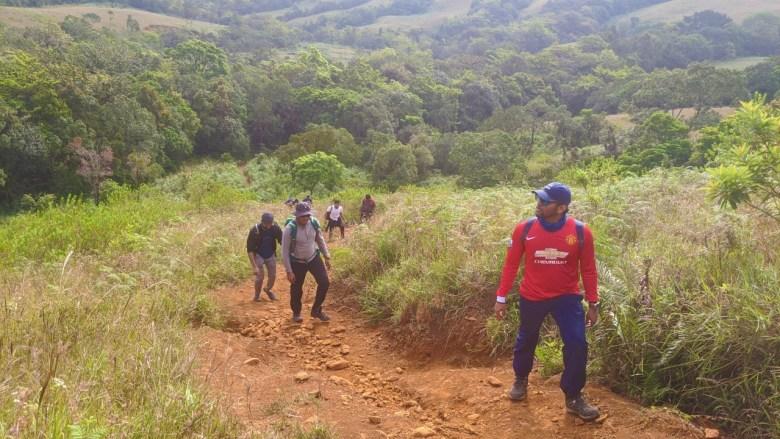 First Steep Climb Of Kudremukh Trek