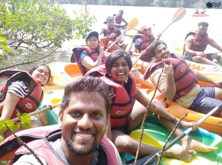Stuck In Mangroves In Kali River