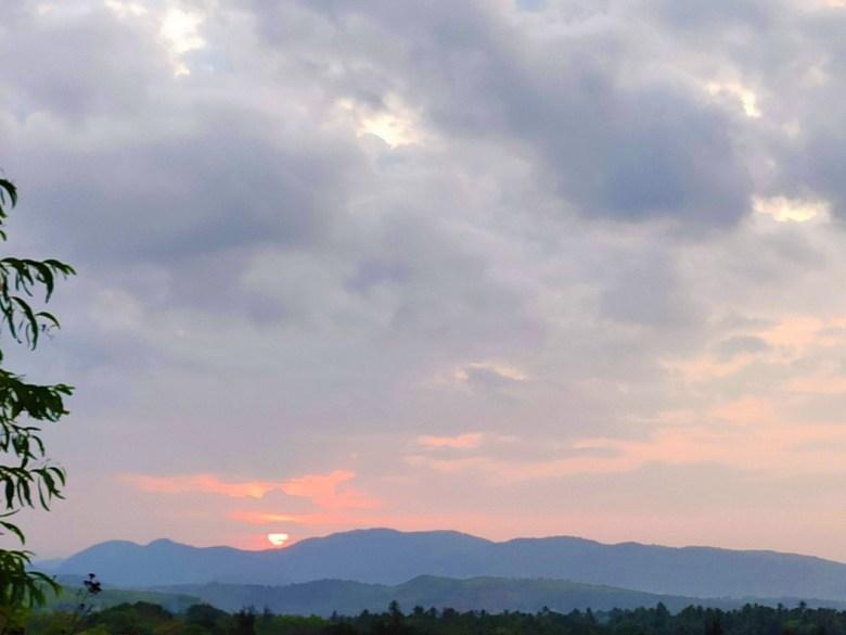 Sunrise View From Kagal Fort Kumta