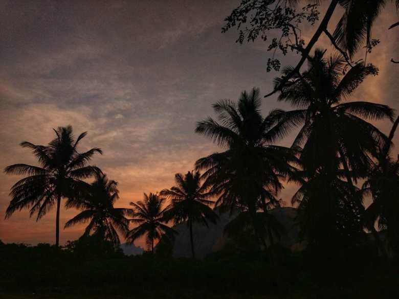 Sunset Shades At SRS Hills Ramanagara